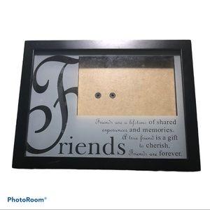 Friends black picture frame 4x6